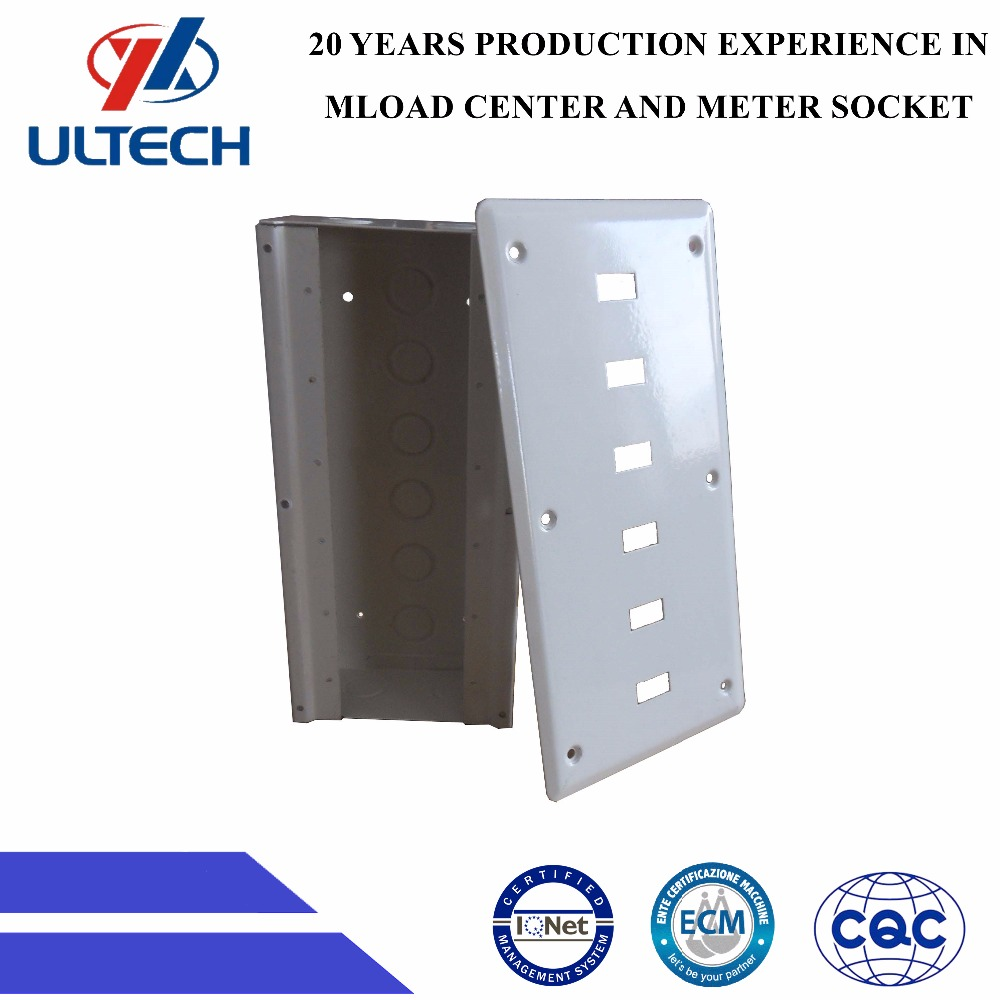 High quality electronic enclosure steel sheet junction box Switch box-GWB-6WAY