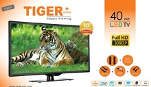 Tiger star 40 inch LED TV HD LED TV Smart TV with Android System