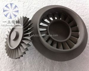 precision inconel castings portable sandblasting used turbine disc for rc jet engine