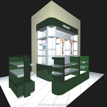 cosmetic display stand showcase for cosmetic shop furniture design