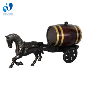 WanuoCraft Cheap Wooden Horse Barrel Factory Supply Wine Barrel