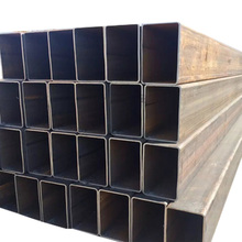 a53 building construction material black carbon square tube