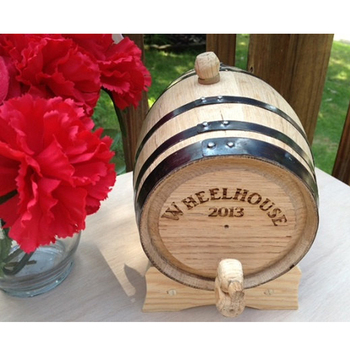 Handmade item Wooden Whiskey Aging Barrel