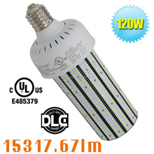 120w led corn bulb street light led replacement for 400W high pressure sodium parking lot lights