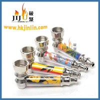 JL-189 Yiwu Jiju Smoking Pipes Cheap Smoking Pipes Cheap Smoking Pipes Metal Smoking Pipes Parts