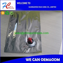 1l 3l 5l spout top pe material bag in box for wine/juice/oil high quality