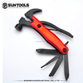 Large-size 7 in 1 multi hande tools outdoor helper nail puller Claw Hammer