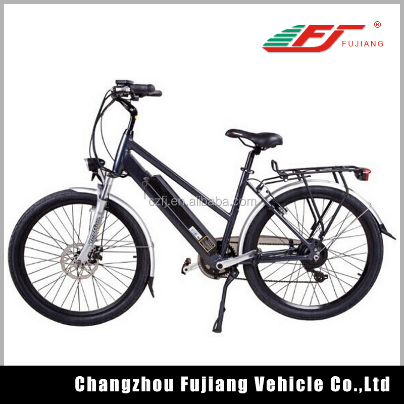 250w 36V 10.4Ah city electric bicycle/electric motor cycle