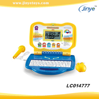 Russian & English kids laptop learning machine baby learning toys
