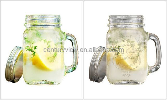 2015 New design mason jar shot glass