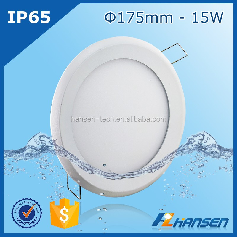 Taiwan Epistar 15w panel light led high luminous flux indoor and outdoor waterproof led panel light
