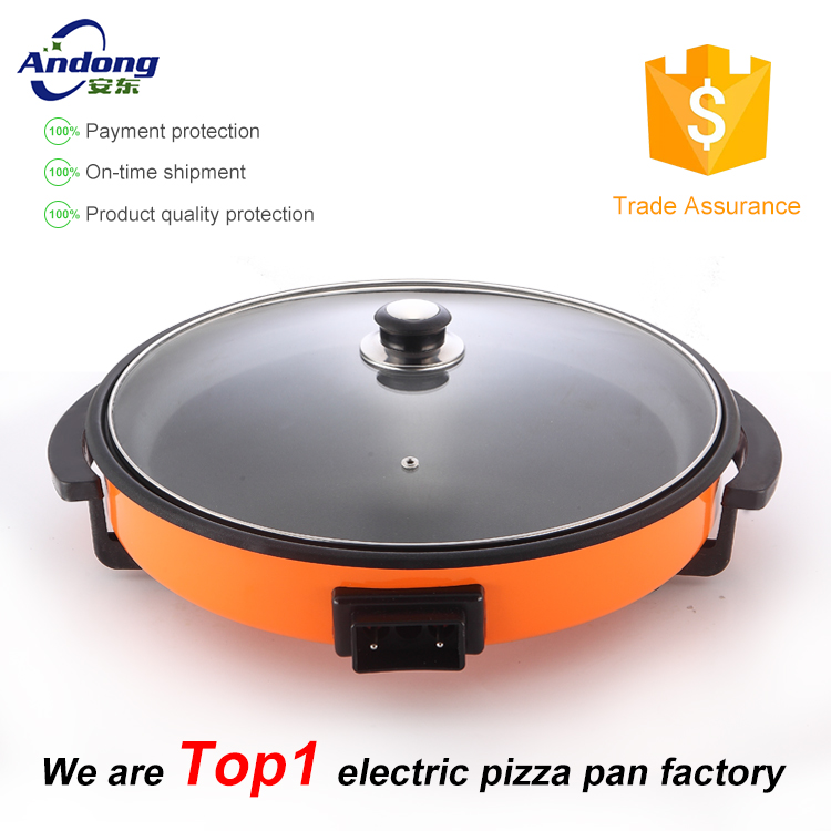 cooking appliances electric pizza cooker with pancake maker with CE CB GS ROHS LFGB