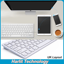 Ultra Thin Computer Keyboard With Mouse Full Size Bluetooth Keyboard For Computer And Laptop Tablet PC