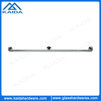 Bathroom stainless steel grab bar for elders and disable
