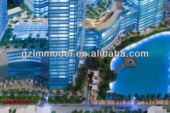 model maker/commerical maqutette builder/model complex rendering