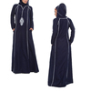 wholesale alibaba OEM china supplier abaya latest design muslim long sleeve arabic kaftan