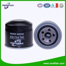 Auto Parts Hyundai Car Filter 26300-35056 Oil Filter Chinese Filter Factory