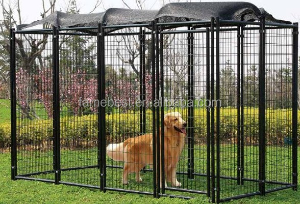 Hot DIP Galvanized Weld Mesh Dog Kennel Runs