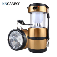 Outdoor lighting camping Solar energy Rechargeable Camping Lantern Bivouac Hiking Camping Light LED Lamp