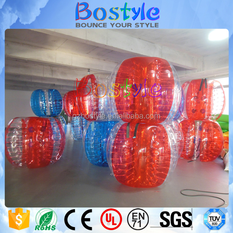 Bostyle Customized Color Human Body Zorb Ball Young Hamster Bubble Ball For Soccer