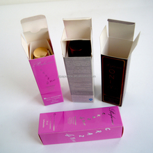 factory outlet full color print customized cosmetic perfume packaging paper box
