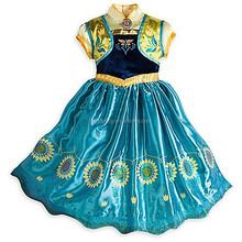 HOT new movie star princess frozen elsa coronation costume cosplay QKC-1675