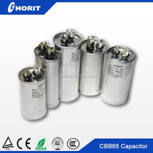 Air conditioner capacitor castor oil capacitor cbb65