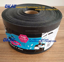 DPC 500um 750um Damp Proof Course Embossed Polythene Damp proof membrane for Waterproofing