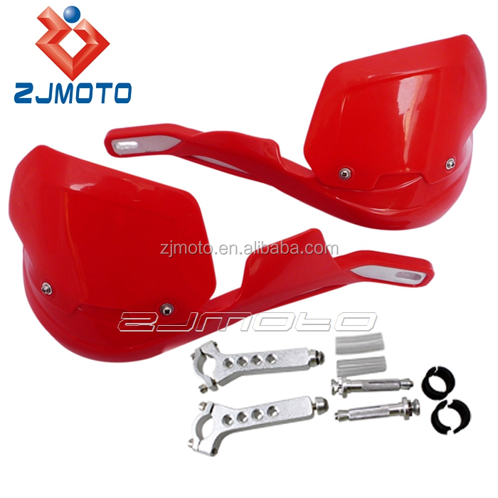 "ZJMOTO 7/8"" Dirt bike ATV Motorcycle Brush Bar Hand Guards, Handguard Protector Shield for CR CRF SL XR CRM 230 250 450"