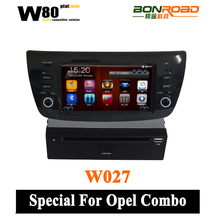 Wince 6.0 O.S Wholesale 7 inches OPEL Combo 2012 car dvd player with DVD/CD/Mp3/Mp4/Bluetooth/ipod/radio/tv/gps/3g