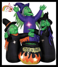 2013 hot sale Inflatable wizard front yard halloween decoration