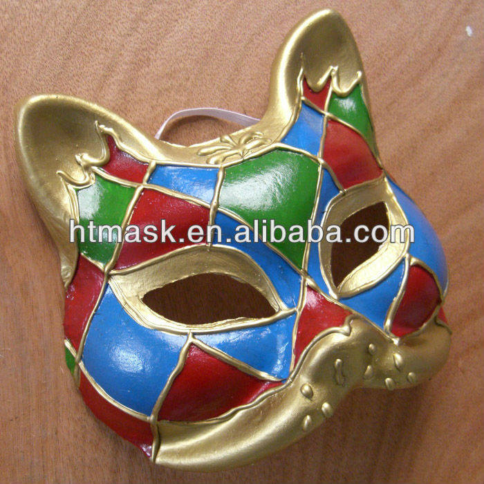 Christmas Paper Mache Masks For Female Masks