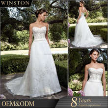 Hot Sale Factory Custom wedding dresses for mature women