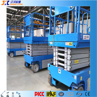 Material Transport Towable Industrial Scissor Lifting Equipment