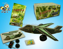 Novetly 3D Puzzle Plane Fighter Cheaper Toy Candy