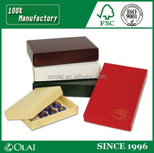 Decorative small paper box for chocolate for sale design