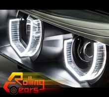 Daytime Running light Headlight LED Angel Eye Kit For BMW E46 E39 E90 E92 M3 M5