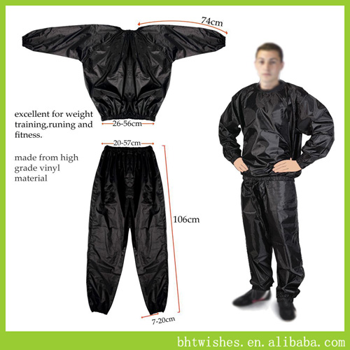 Sauna Suit Exercise Gym Suit, Fitness Weight Loss suit
