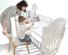 Baby Furniture Pine Baby Cribs And