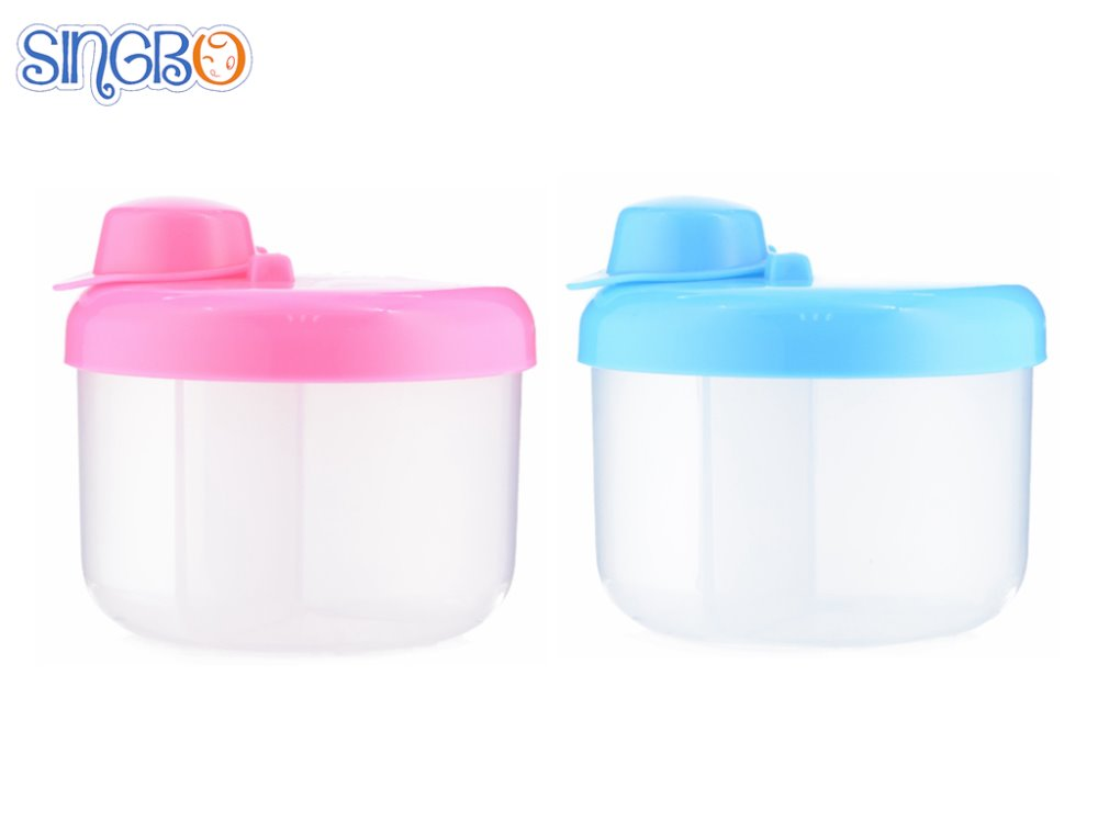 New design Baby Infant Feeding Milk Powder Bottle Container 3 Grid Box