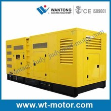 600kva Soundproof Generator Diesel Powered By Perkins Engine