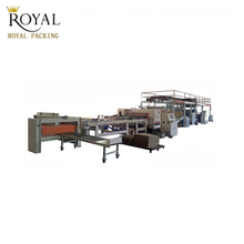 MJSGL-4 single faced corrugated paper production line carton box making machine prices