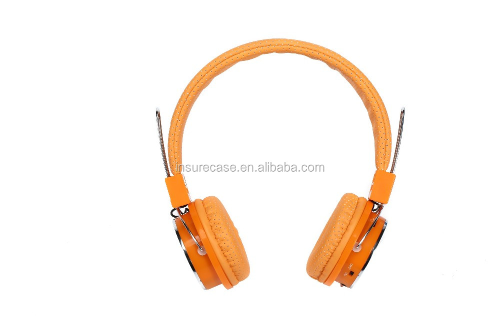 Foldable headset noise cancelling outdoor bluetooth headphone manufacturer
