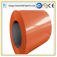 prepainted galvanized steel coil/color coated steel coil for home appliances