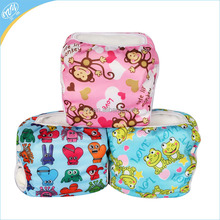 Leakproof PUL Cover Reusable Nappies Swim Pants Toddler Swimwear Baby Cloth Diaper