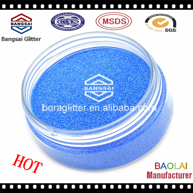 Bulk 1mm metallic pet colored glitter powder - glitter sequin