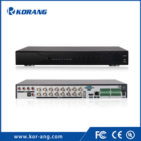 Korang 16 channel 1080P Onvif Security AHD Recorder 16ch H.264 CCTV Sureillance DVR
