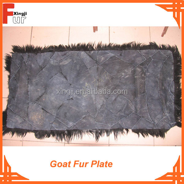 Straight Hair Goat Fur Plate