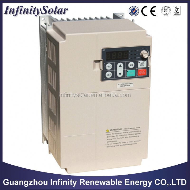 1.5KW 1500W solar water pump inverter (converter) for AC pumping system