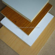 White melamine faced plywood / Coloured melamine plywood